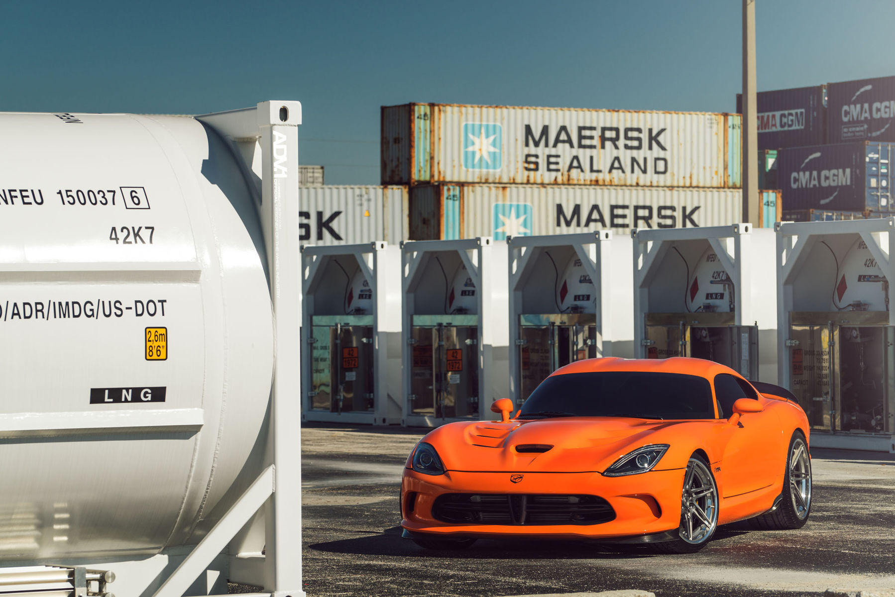 Dodge Viper | ADV.1 Wheels 1000 RWHP Dodge Viper
