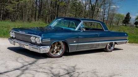 1963 Chevrolet Impala | Barry's Roadster Shop-Built 1963 Chevrolet Impala on Forgeline RS6 Wheels