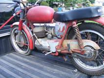 1966 Bultaco Mercurio 200 restoration