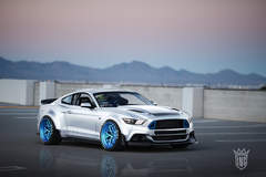 '15 Ford Mustang EcoBoost by Ice Nine Group - Photoshoot During Sundown