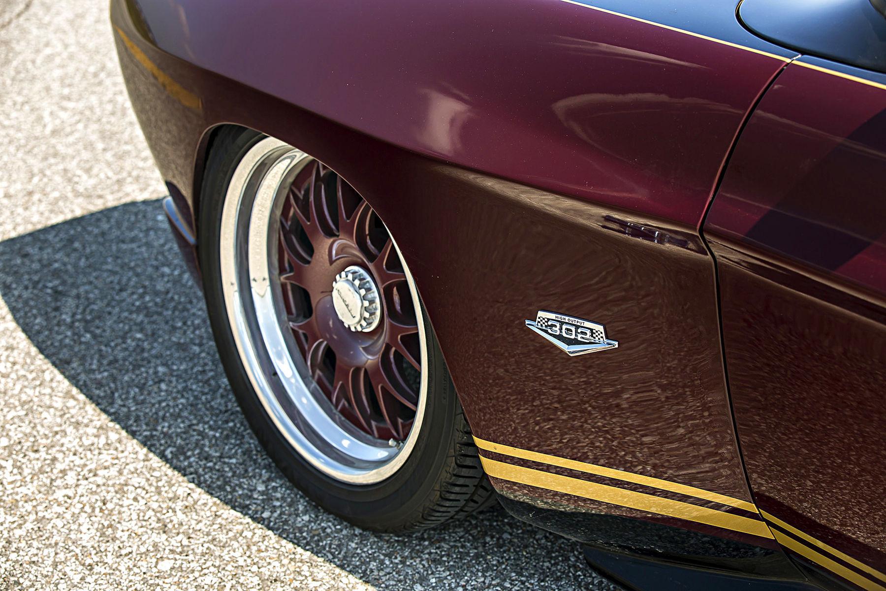 1973   | Jerry LaCoss' Pro-Touring 1973 Ford Capri on Center Locking Forgeline GA3 Wheels
