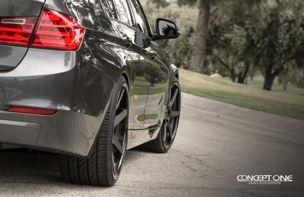 2012 BMW 3 Series | '12 BMW 335i on Concept One CS6.0's