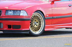 E36 M3 on Forgeline LS3 Wheels