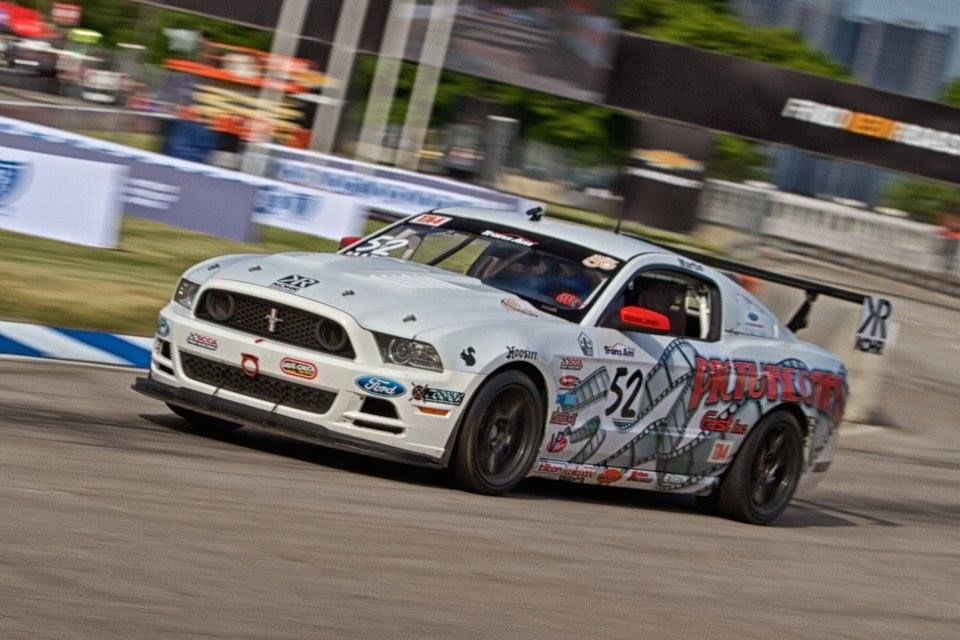 2014 Ford Mustang | Dean Martin Wins Race 1 of Trans Am Motor City 100 on Forgeline One Piece Forged Monoblock GS1R Wheels