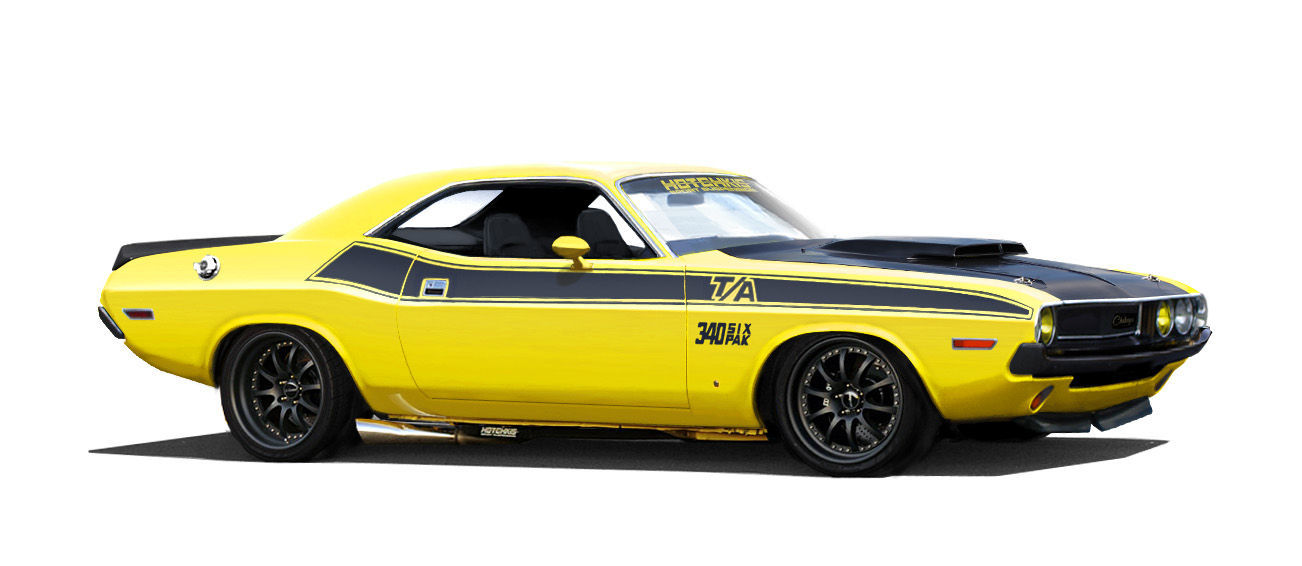 1970 Dodge Challenger | The Hotchkis E-Max Dodge Challenger on Forgeline ZX3R Wheels