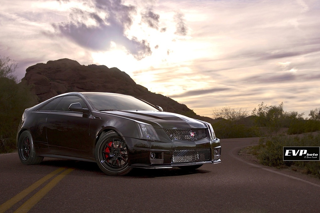2011 Cadillac CTS-V Coupe | Mike Bambic's Cadillac CTS-V Coupe on Forgeline GA3 Wheels