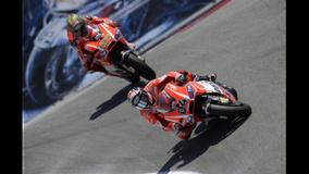 2013 MotoGP - Laguna Seca - Hayden and Dovi