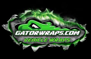 Vehicle wrap by Gator Wraps