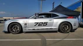 JDP Camaro on Forgeline GA1R Open Lug Cap Edition Wheels