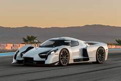 The Scuderia Cameron Glickenhaus SCG003S Supercar on Forgeline One Piece Forged Monoblock GT1 Wheels