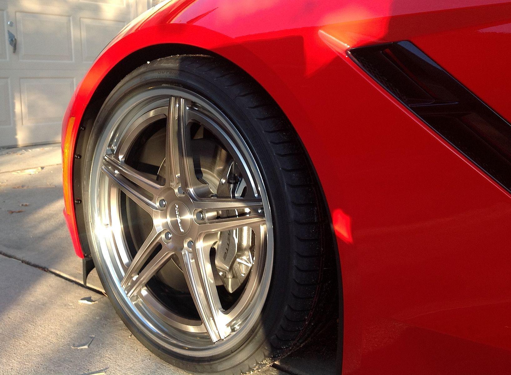 2014 Chevrolet Corvette Stingray | Gary Westerdale's C7 Corvette on Forgeline SC3C-SL Wheels
