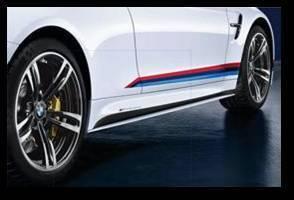 BMW M Performance Rocker Panel Decals