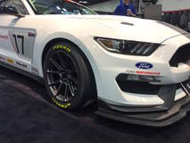 Ford's Shelby FP350S Mustang Factory-Direct Racecar on Forgeline One Piece Forged Monoblock GS1R Wheels