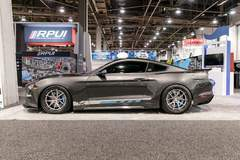 "Petty's Garage ""Track King"" Widebody 2018 Ford Mustang on Forgeline Carbon+Forged CF201 Wheels"
