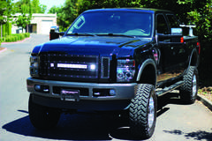 LED Grilles on Ford F250