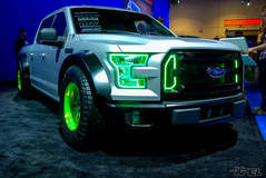 Vaughn Gittin Jr's Fully Wrapped F150 XPEL STEALTH