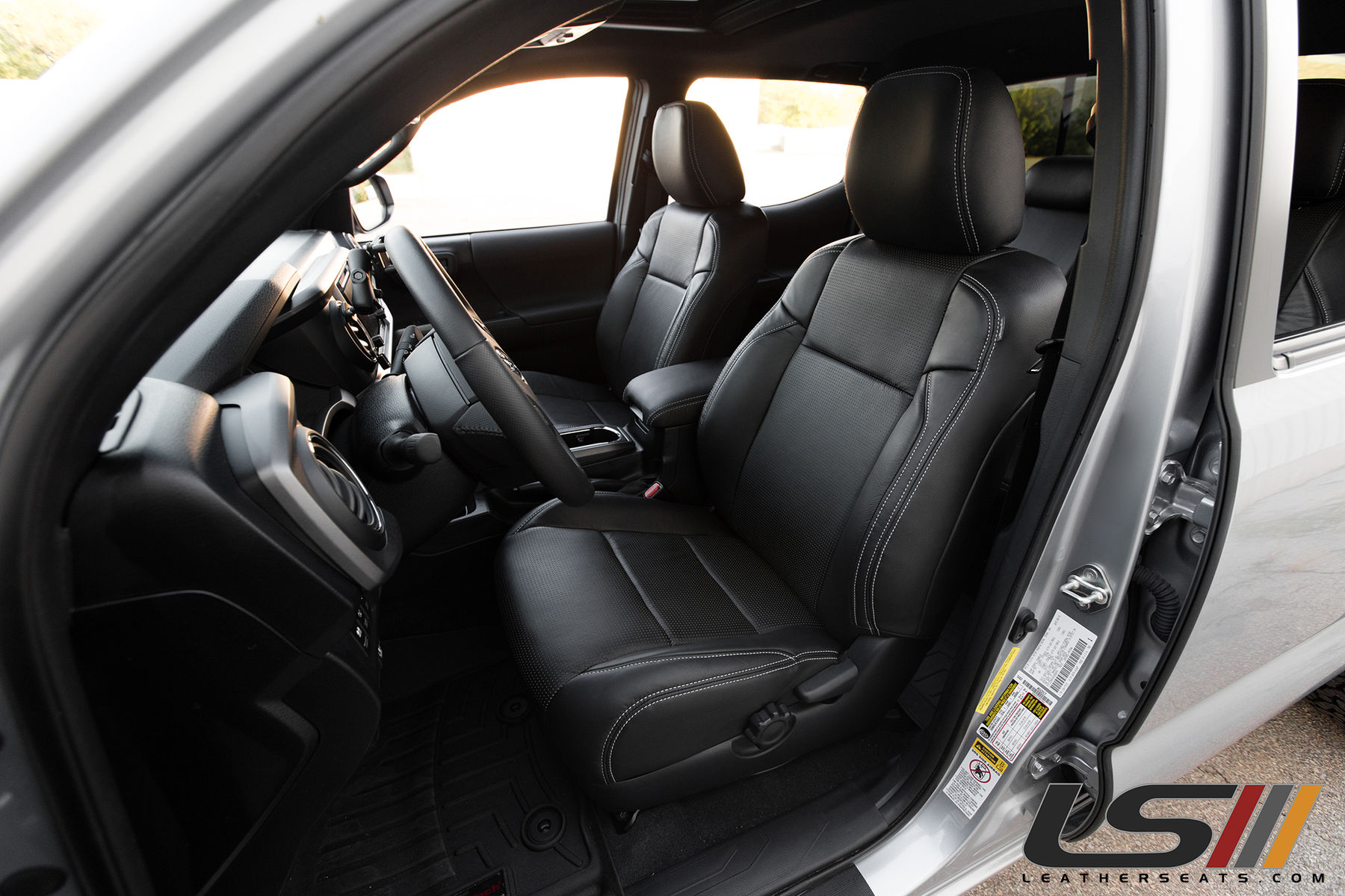 Groovy Tacoma Leather Seats Short Links Chair Design For Home Short Linksinfo