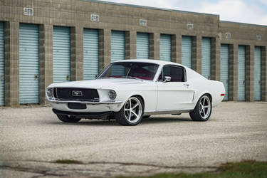 1968 Ford Mustang | Dakota Muscle Cars Ecoboost '68 Mustang on Forgeline FL500 Wheels