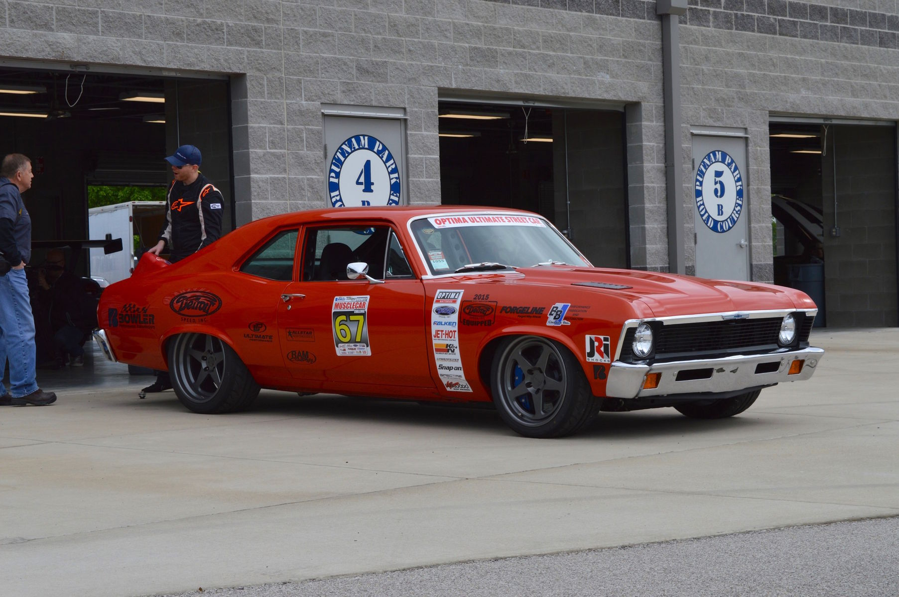 1972 Chevrolet Nova | Billy Utley's '72 Nova on Forgeline Heritage Series FF3 Wheels at the 2016 Midwest MuscleCar Challenge