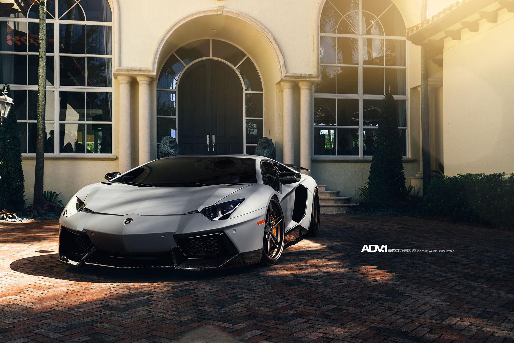 Lamborghini Aventador | ADV.1 Wheels | Lamborghini Aventador
