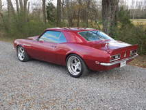 Chris Shar's 1968 Chevy Camaro on Forgeline SO3 Wheels