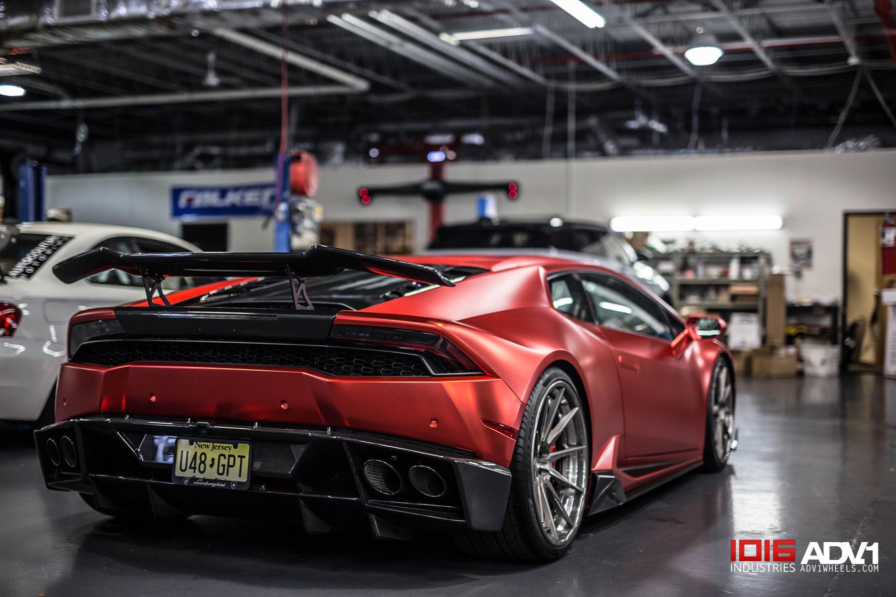 2017 Lamborghini Huracan | Satin Metallic Red Lamborghini Huracan LP610-4