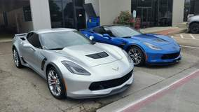 Silver or Blue Z06? Both are protected with XPEL ULTIMATE