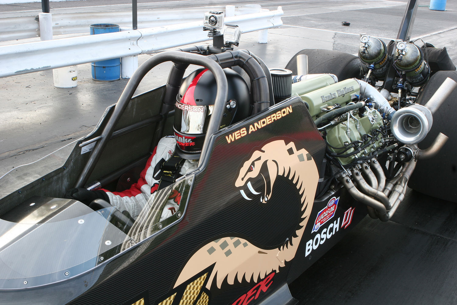 2008   | Banks Sidewinder Top Diesel Dragster