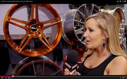 Jessica Barton Covers the Forgeline Booth at the 2014 SEMA Show