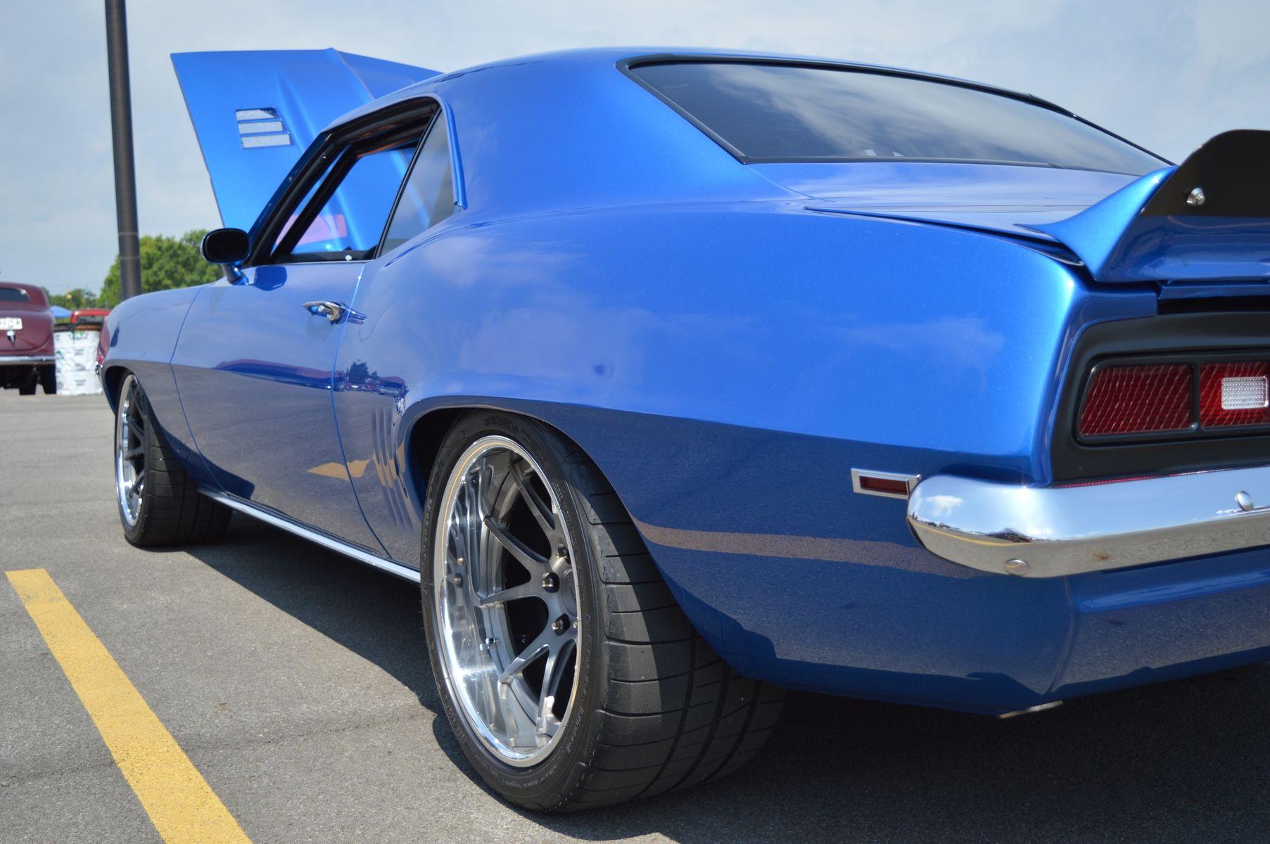 1969 Chevrolet Camaro | Jason Mitchell's '69 Camaro on Forgeline GA3C Concave Wheels Wins