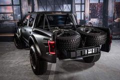 2017 Ford F-150 Raptor Pre Runner by DeBerti Design - Chase Rack and Spare Tires