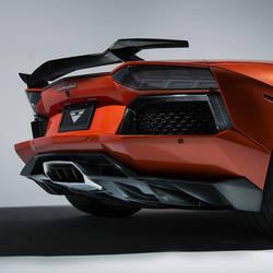 Aventador-V Rear Diffuser