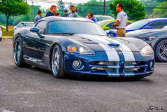 Turbo Dodge Viper at Cars and Coffee San Antonio