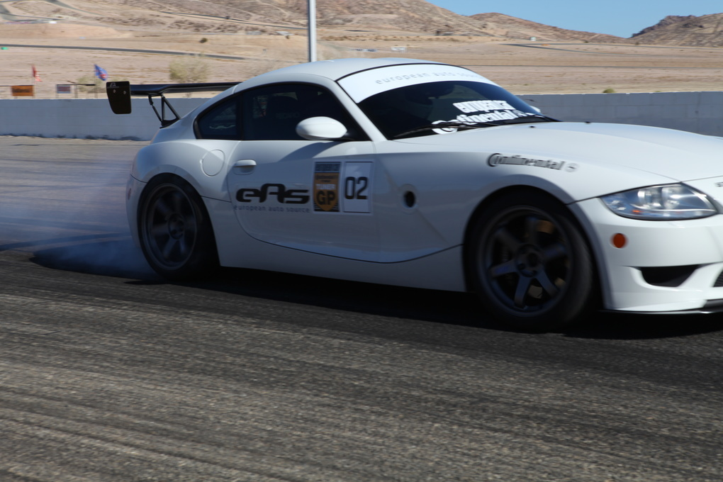 | Continental Tires putting on a smoke show