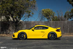 SP Motorsports' Porsche Cayman GT4 on Forgeline One Piece Forged Monoblock GS1R Wheels