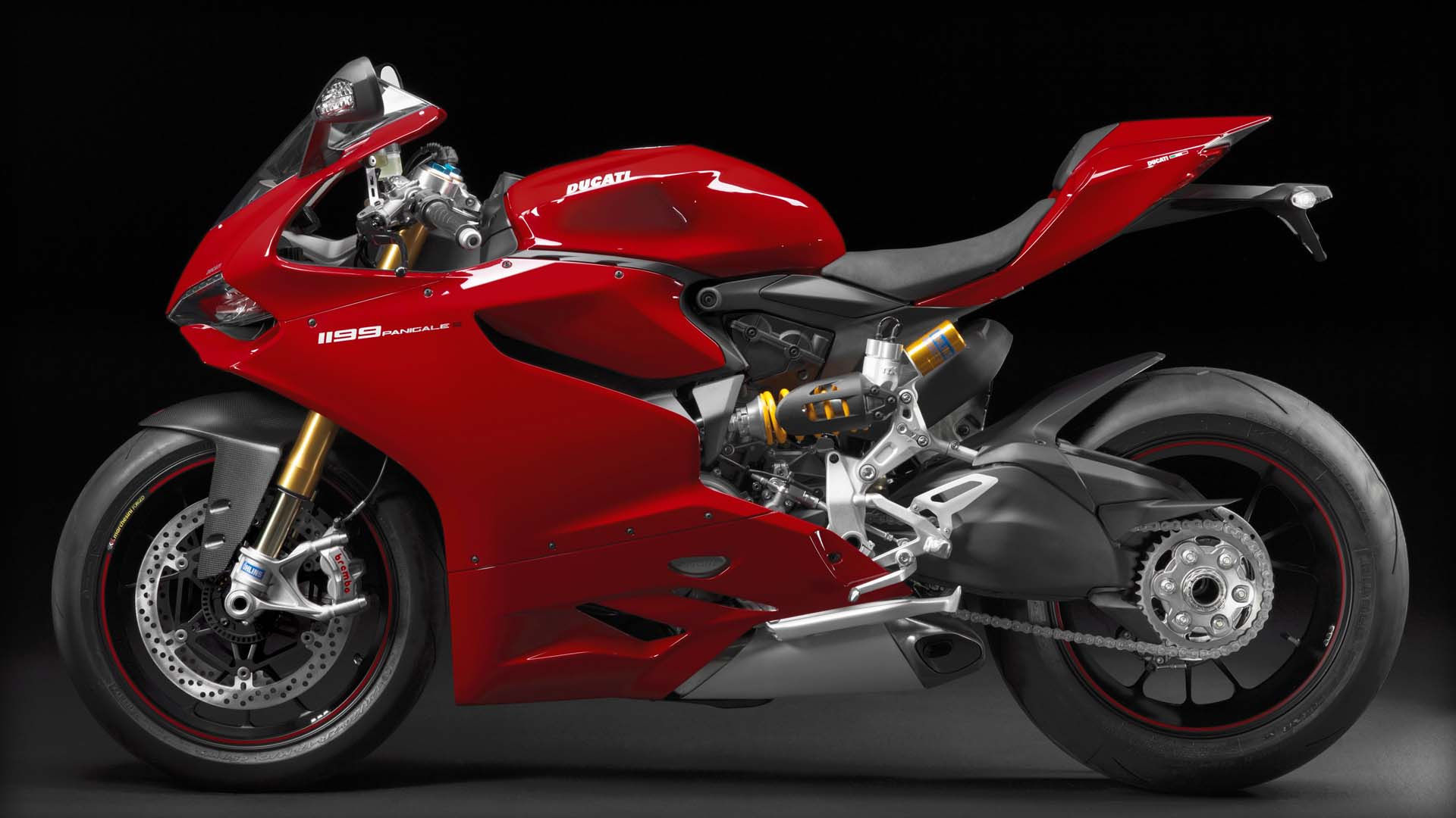 2014 Ducati 1199 PANIGALE S | Ducati 1199 Panigale S - Red Model Left Side