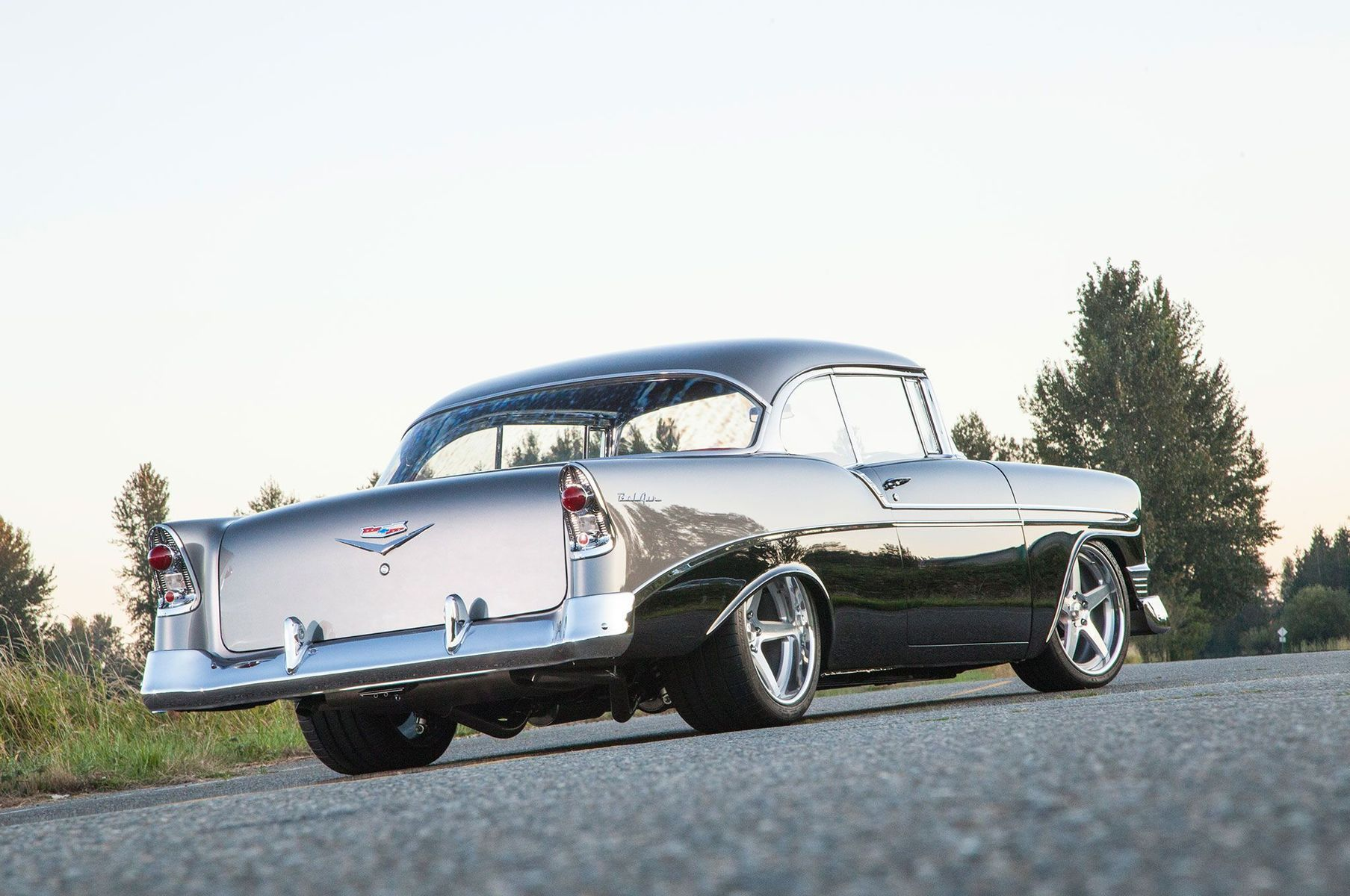 1956 Chevrolet Bel Air | Jeff Zirkle's Pro-Touring '56 Chevy Bel Air on Forgeline CF3C Wheels
