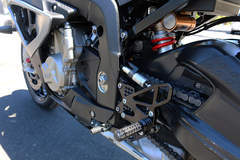 '14 BMW S1000RR - Rearsets and Shock