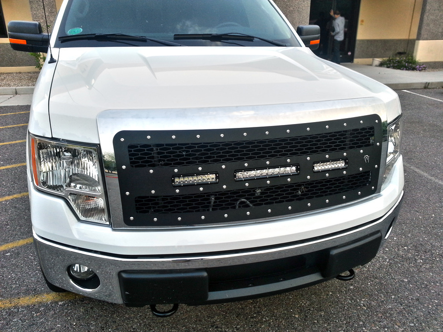 Ford  | Rigid Industries LED Grille - Ford F-150 2009-2012