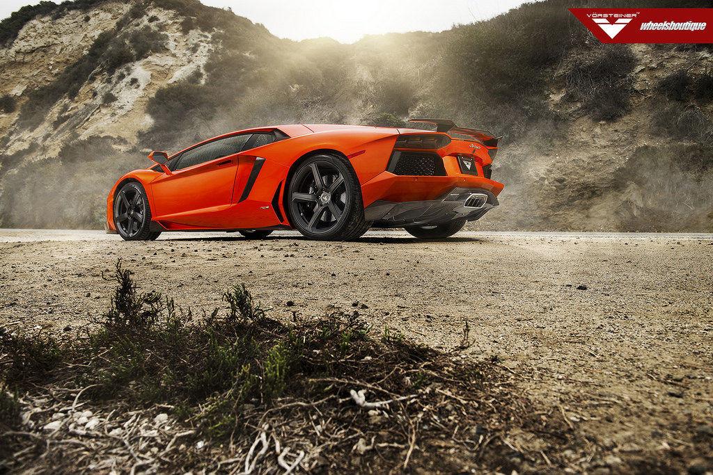 Lamborghini Aventador   Lamborghini Aventador on Vorsteiner VSE-005