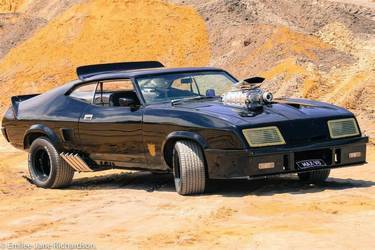 Mad Max Interceptor Clone