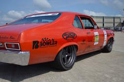 Billy Utley's '72 Nova on Forgeline Heritage Series FF3 Wheels at the 2016 Midwest MuscleCar Challenge