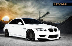 BMW M3 on Lexani CSS-16's