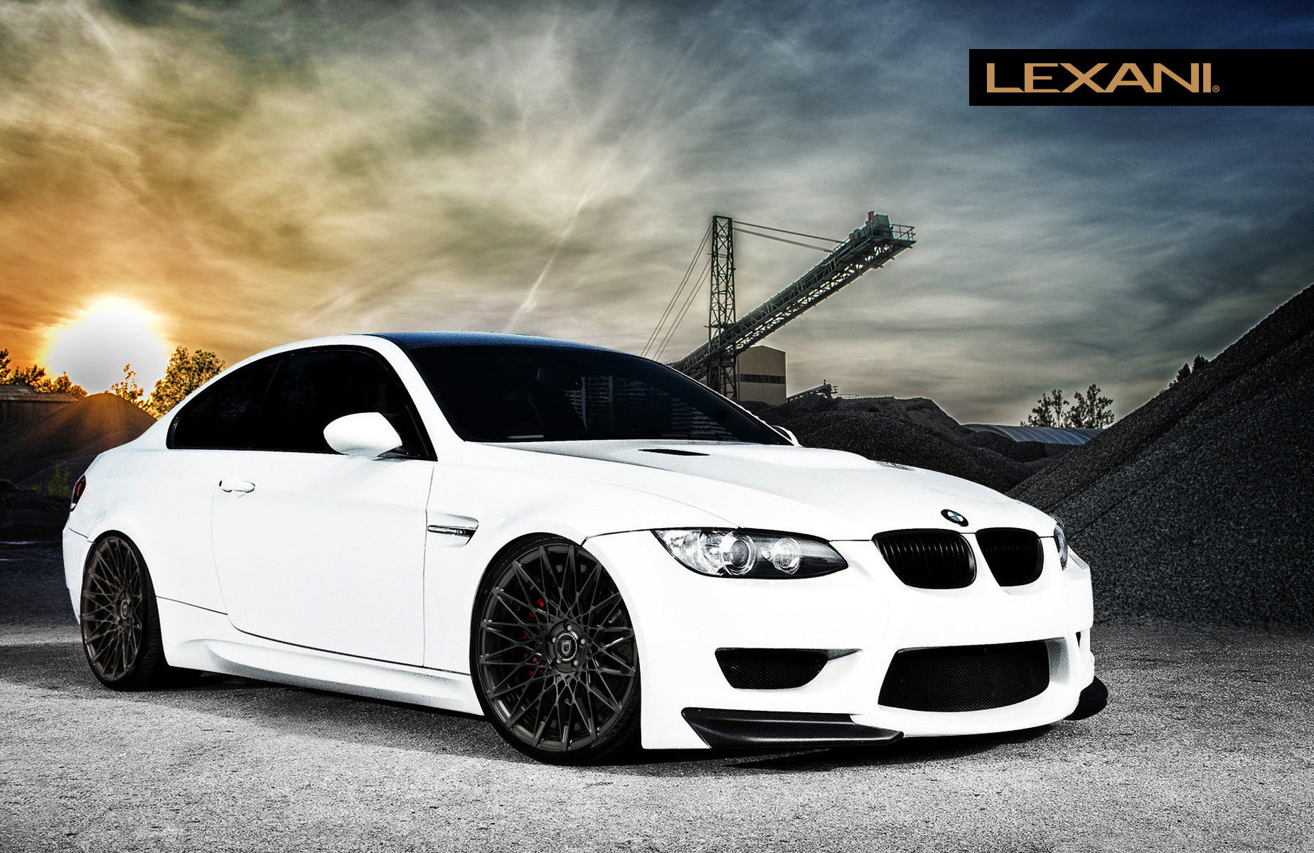2012 BMW M3 | BMW M3 on Lexani CSS-16's
