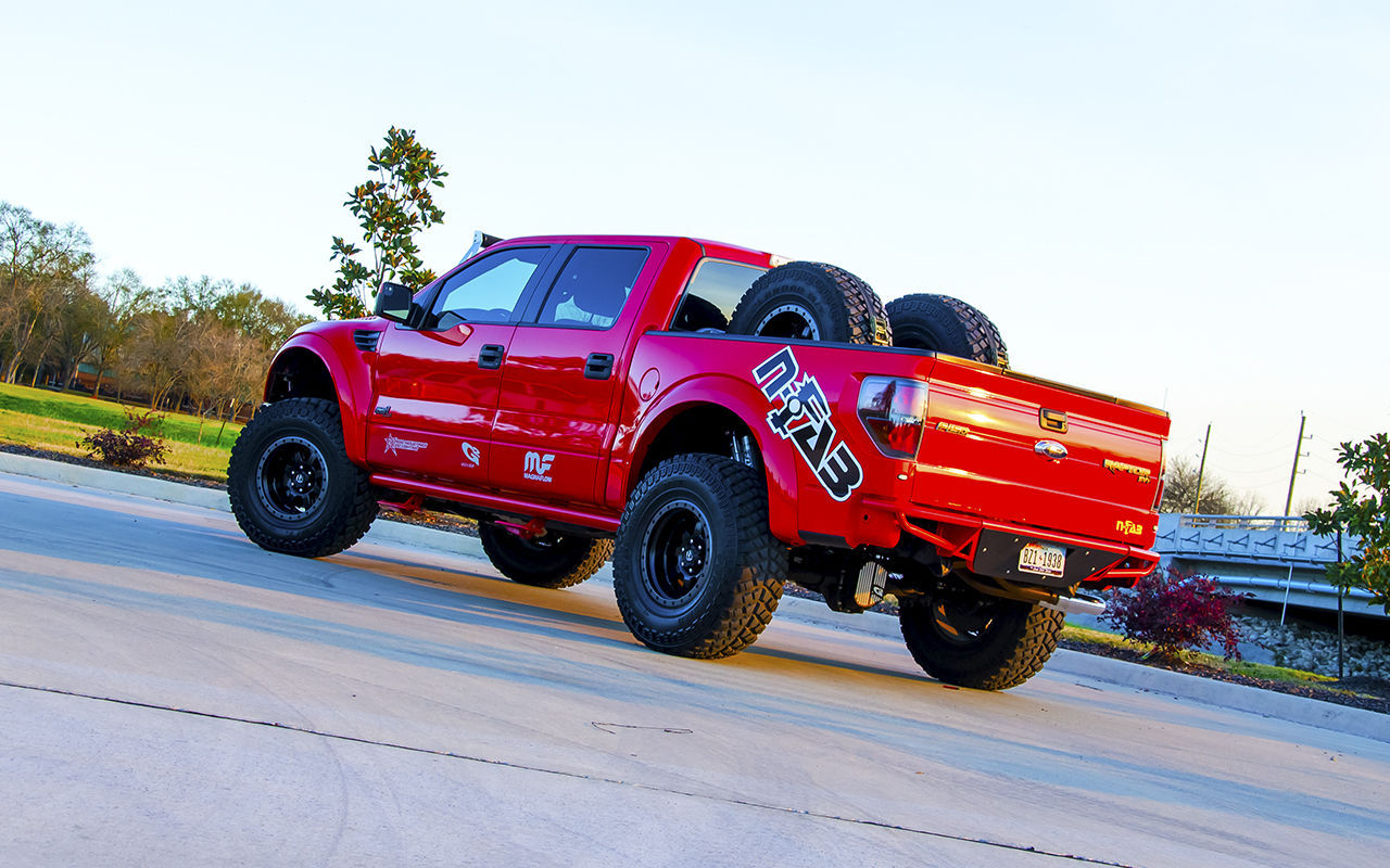 2012 Ford Raptor | N-FAB Ford Raptor Build