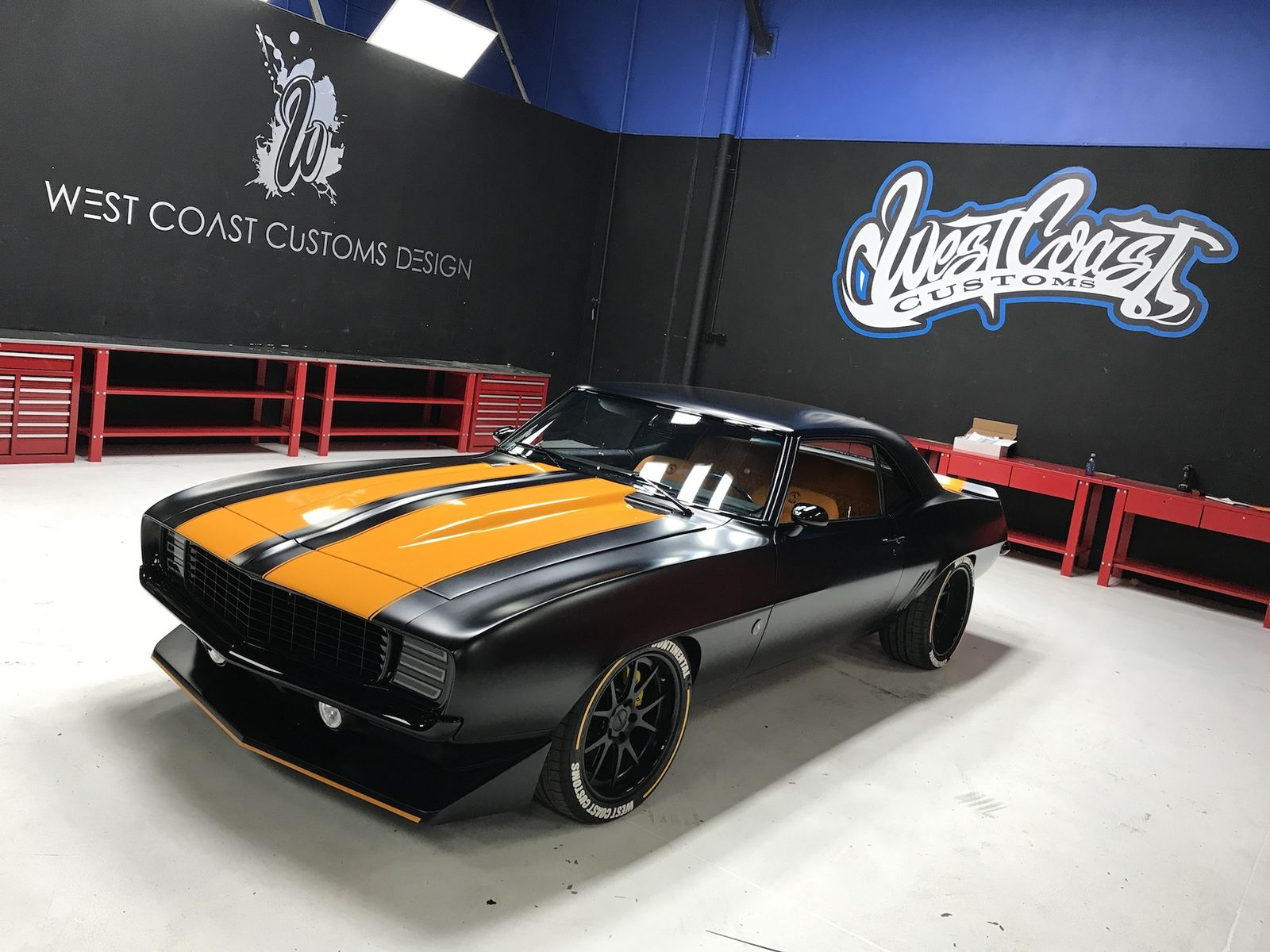 1969 Chevrolet Camaro | Continental Tire's West Coast Customs-Built '69 Camaro on Forgeline GA3C Wheels