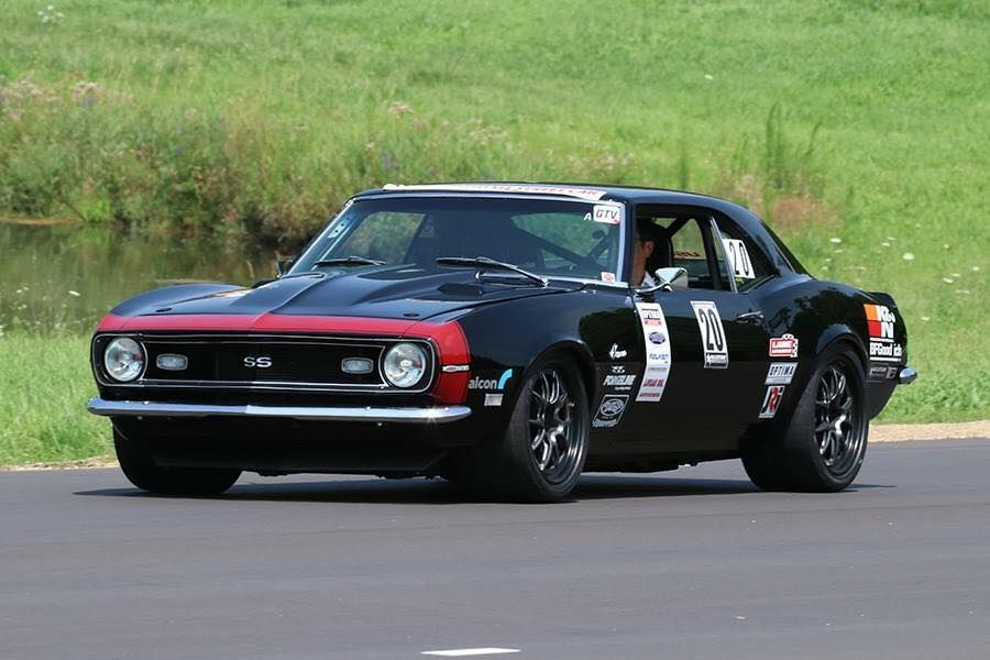 1968 Chevrolet Camaro | Larry Woo Wins Vintage Class at Motorstate Challenge on Forgeline GA3R Open Lug Wheels