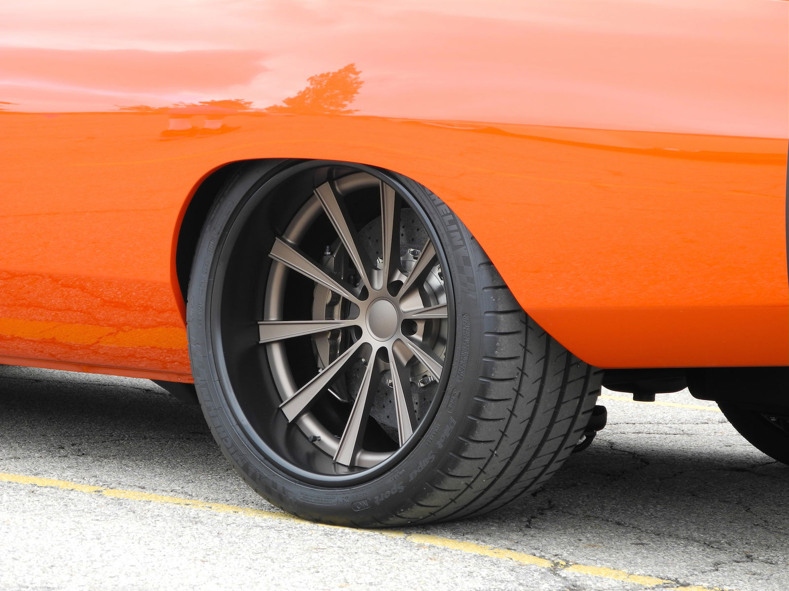 1969 Dodge Charger | Moe's Charger on Grip Equipped Dropkick Wheels