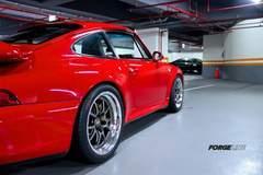 Bolin Wu's Porsche Carrera 993 C2S on Forgeline GA3R Wheels