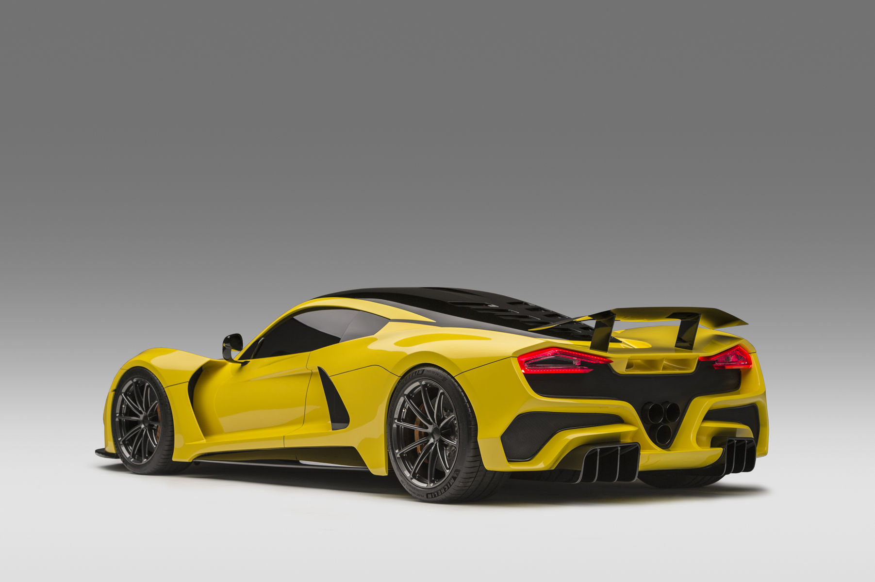 2018 Hennessey  | Hennessey Venom F5 Hypercar Debuts at Geneva on Forgeline One Piece Forged Monoblock GT1 5-Lug Wheels